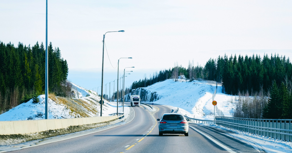 Cars i Lapland (Photo: Shutterstock)