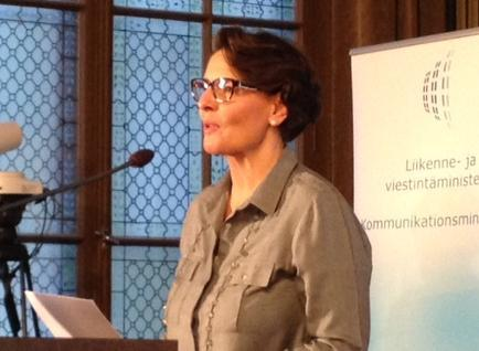 Minister of Transport and Communications Anne Berner, 5G seminar, 22.10.2015