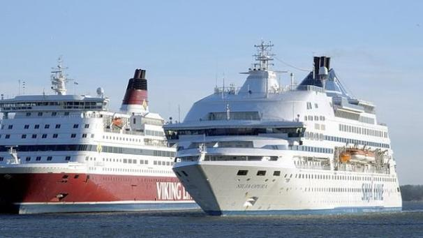 Cruise ships at the Baltic Sea (picture: LVM)