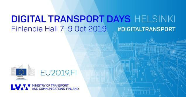 Digital Transport Days 7–9 oktober 2019, Helsinki (Bild: KM)