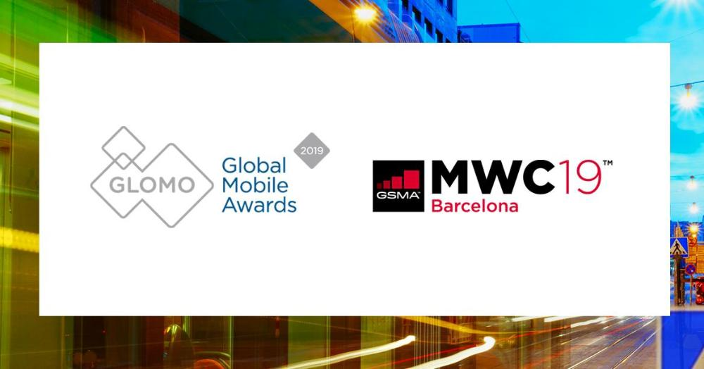 The GSMA Government Leadership Award was Act on Transport Services, logos of Global Mobile Awards and MWCBarcelona