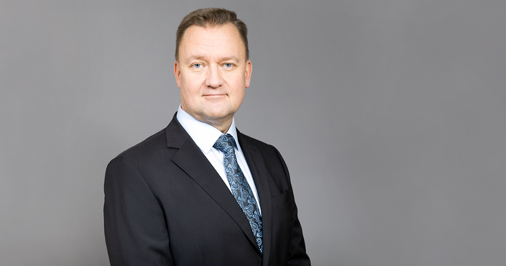 Government appointed Rauli Paananen as National Cyber Security Director. (Photo: Kuva: Suvi-Tuuli Kankaanpää, Keksi / LVM)