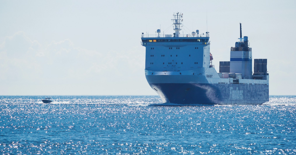 Finnlines cargo ship (Photo: Mikko Lemola/Shutterstock)