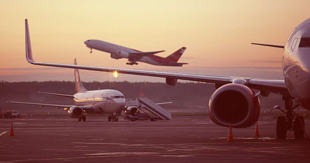 Airplanes at the airport (Photo: Shutterstock)