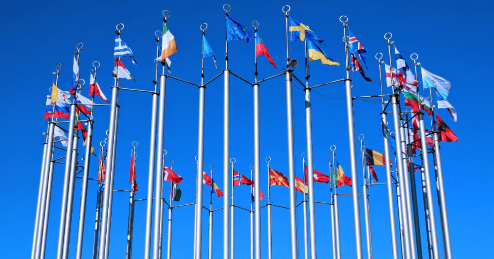 EU flags (Photo: Shutterstock)