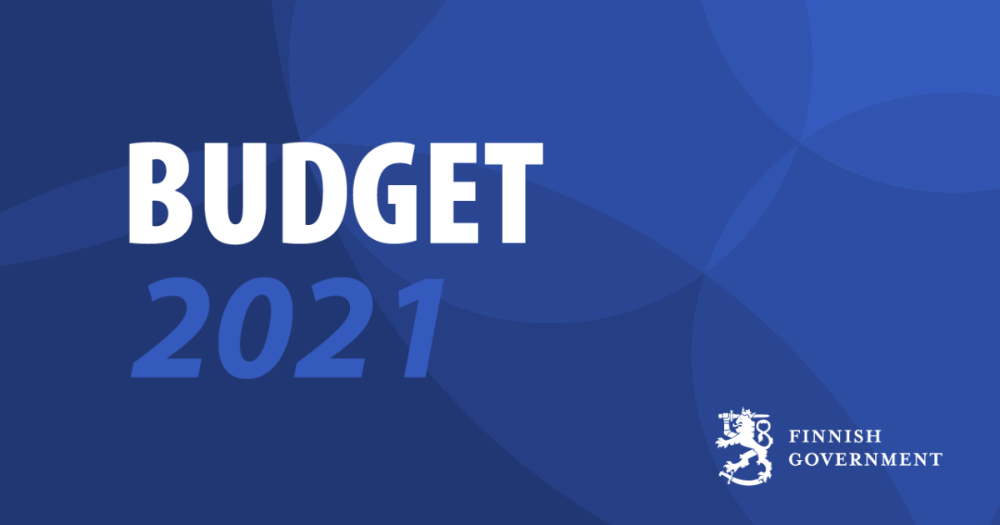 Budget 2021 (Photo: Finnish Government)