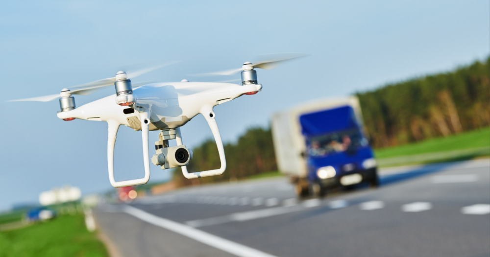 Drone flying (Photo: Shutterstock)