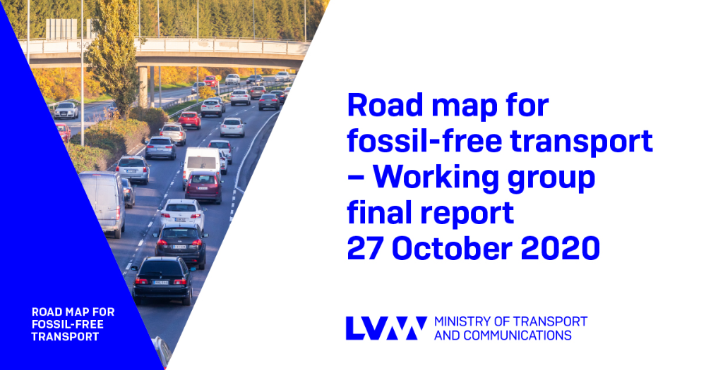 Road map for fossil-free transport – Working group final report 27 October 2020 (Photo: LVM and Rodeo / Juha Tuomi)