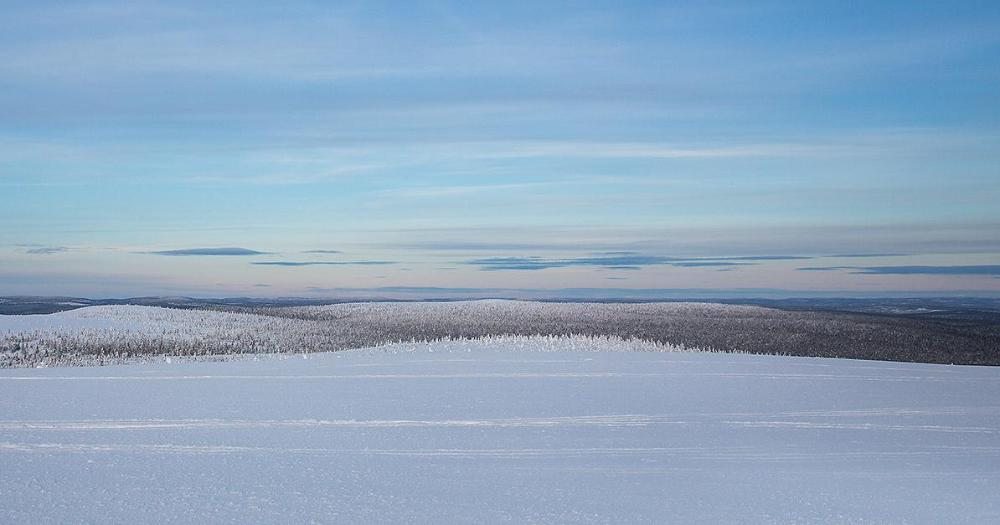 Snow covered winter landscape in Lapland. (Photo: Shutterstock)