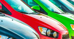 Cars in a row (Photo: Shutterstock)